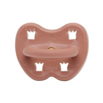 Hevea Fopspeen ruby red dental