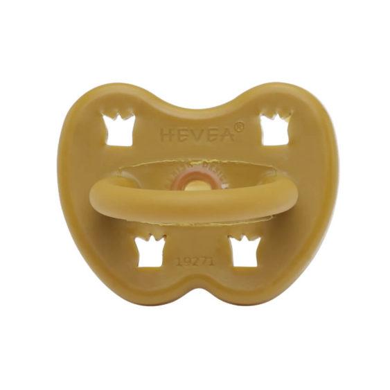 Hevea Fopspeen Rose wood dental