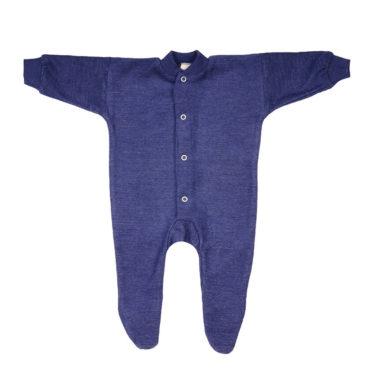 Cosilana Pyjama wol frotté blauw