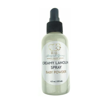 Sheepish Grins Lanoline Spray Baby Powder (FO)