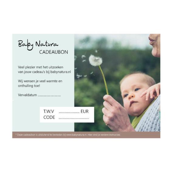 Baby Natura Baby Natura Cadeaubon digitaal
