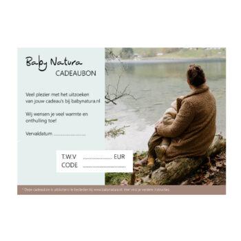Baby Natura Baby Natura Cadeaubon hardcopy
