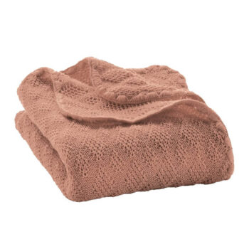 Disana Baby deken wol gebreid naturel
