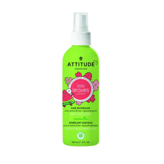 ATTITUDE Little Leaves anti-klit spray - watermeloen & kokos