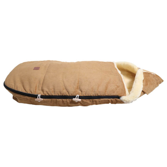 Premium voetenzak schapenvacht corduroy