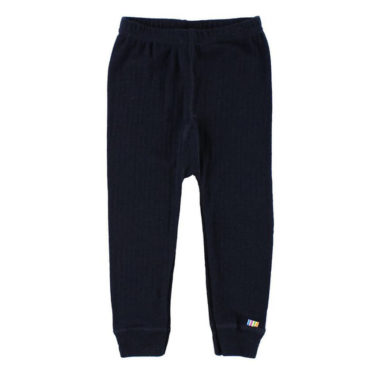 Wollen legging - Blauw