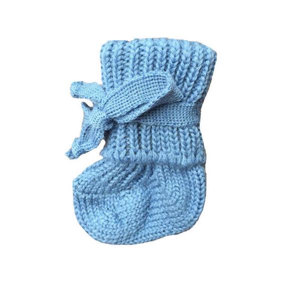 Hirsch natur Striksokjes baby baby blauw